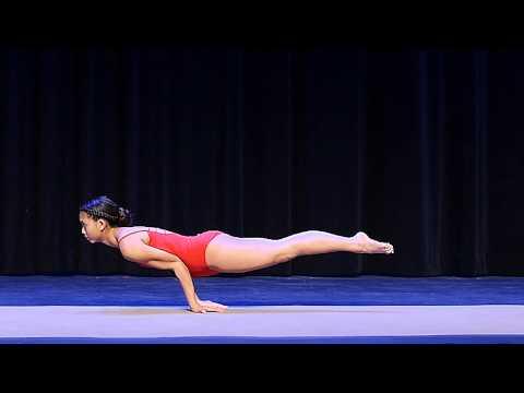 Laura Cryan Florida Regional Yoga Asana Championship 2015