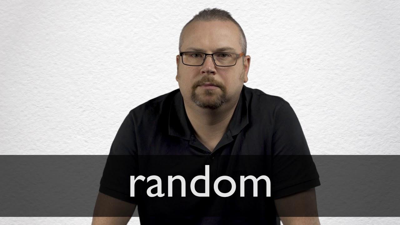 How to pronounce RANDOM in British English