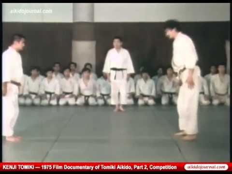 Kenji Tomiki Aikido kyogi part 2 handbrake
