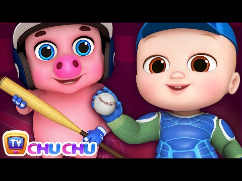 This Little Piggy - ChuChu TV 3D Nursery Rhymes & Kids Songs