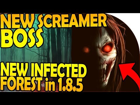 NEW FOGGED INFECTED FOREST + SCREAMER BOSS in UPDATE 1.8.5 - Last Day On Earth Survival Update 1.8.4