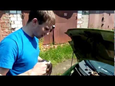 Промывка системы охлаждения двигателя, Daewoo Matiz