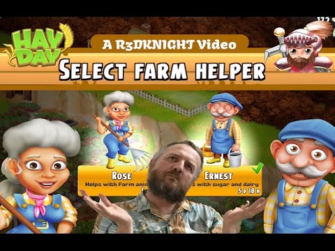 Hay Day - LEVEL 33 The Helpers - An Introduction Guide