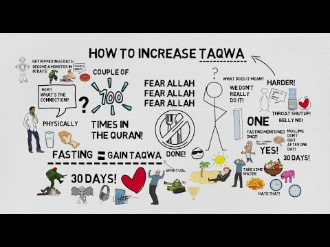 HOW TO INCREASE TAQWA - Nouman Ali Khan Animated