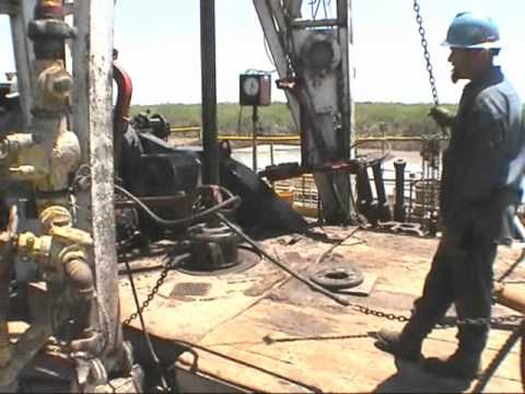 North American Drilling Corporation: Bynum Well # 1 Drilling Video
