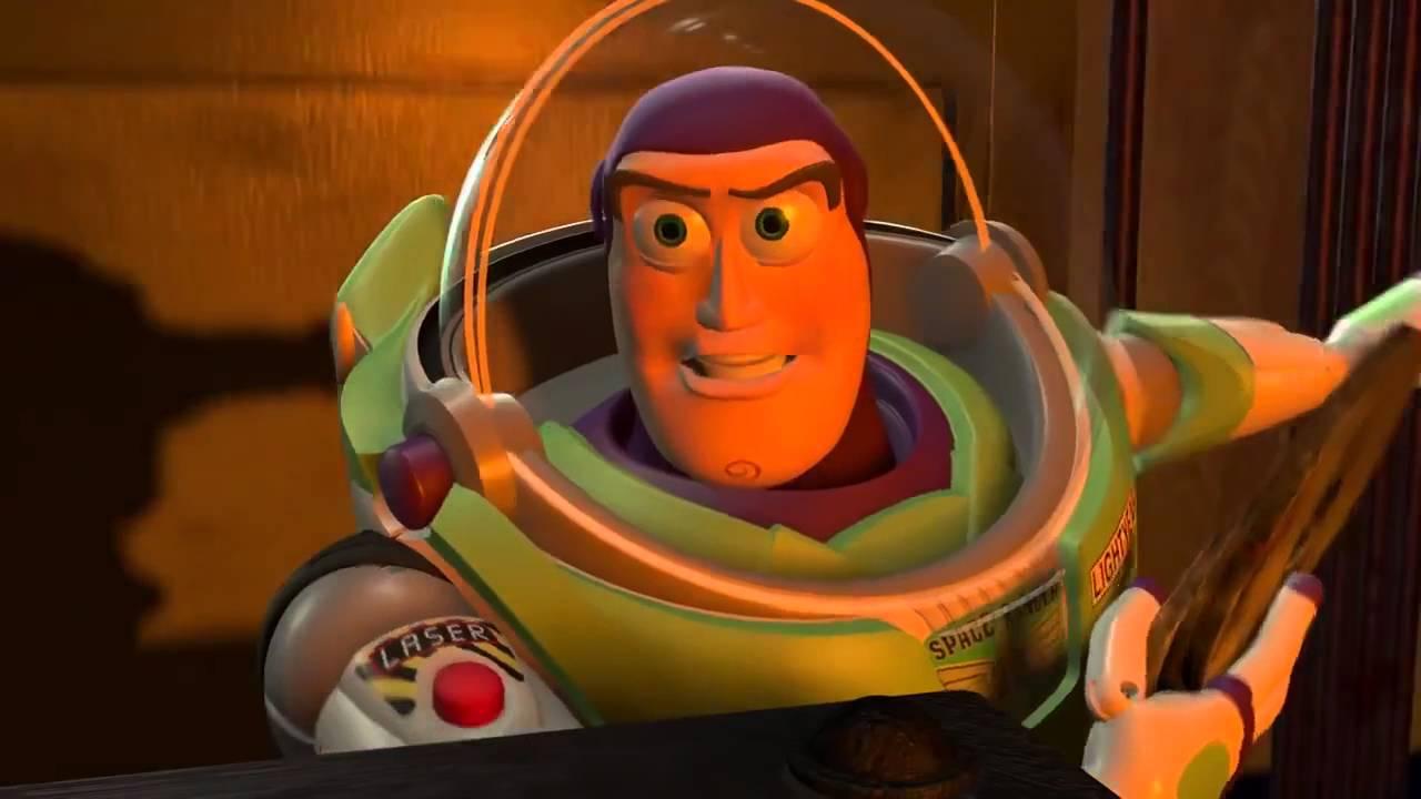 Toy Story 2 Buzz Vs Zurg Youtube