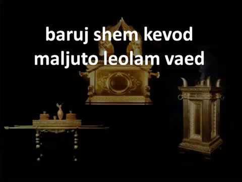 EXALTACION HEBREA - SHEMA ISRAEL ADONAI ELOHEINU