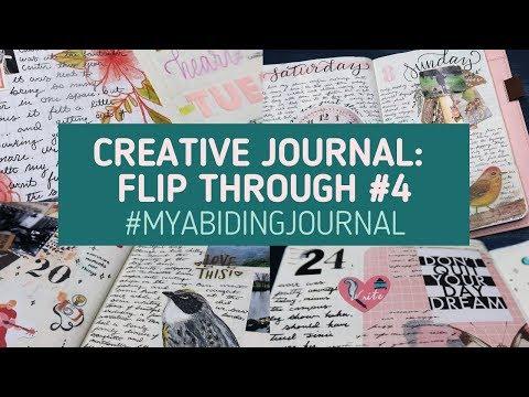 Creative Journal Flip Through #4 // Entries 91-120 #MyAbidingJournal