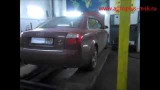 Ремонт и замена катализатора Audi A4 1.8T на пламегаситель(, 2014-12-17T11:04:30.000Z)