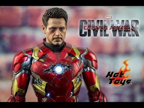 Hot toys Iron Man Mark 46 civil war review