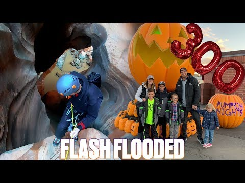 I COULD HAVE DIED BUT I WOULD HAVE MISSED THIS!  FLASH FLOODED SLOT CANYON  300,000 SUBSCRIBERS