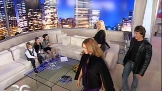 Susana recibe a Nico Vázquez y Emilia Attias - Susana Giménez 2007