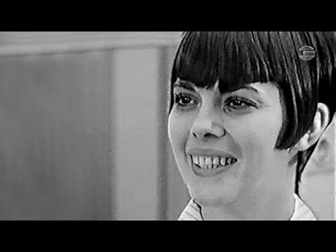 Mireille Mathieu - Interview (Abendschau, Allemagne, 1967)