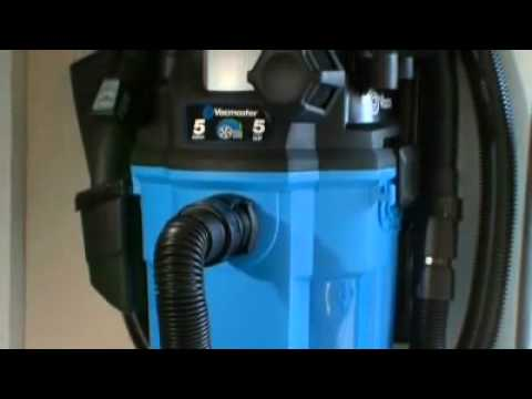 Vacmaster Vwm510 Wall Mount Wet Dry Vacuum Review Youtube
