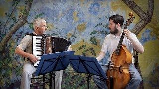 C. Monteverdi - Zefiro torna  - Italian music classical accordion & viola da gamba fisarmonica