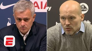 Jose Mourinho, Freddie Ljungberg, Frank Lampard & Premier League managers react to Week 14 | ESPN FC