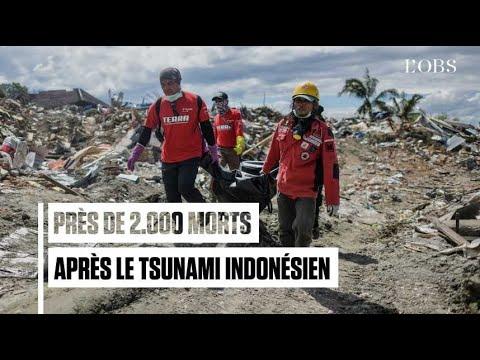 Indonésie : près de 2.000 morts et dernières recherches de corps après le tsunami