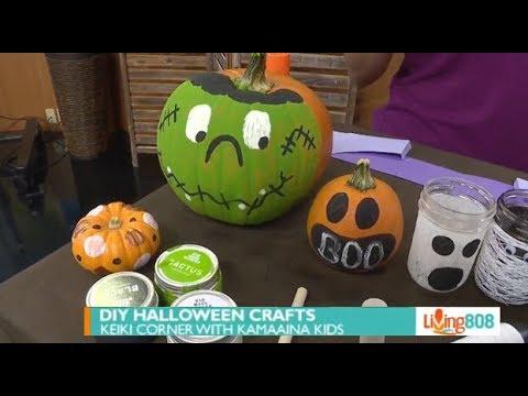 Livng808: DIY Halloween Crafts with Kama'aina Kids