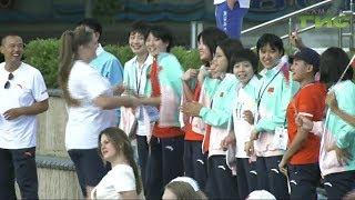 На склоне площади Славы участники молодежных игр сказали Самаре до свидания, но не прощай