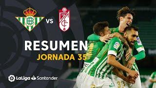 Resumen de Real Betis vs Granada CF (2-1)