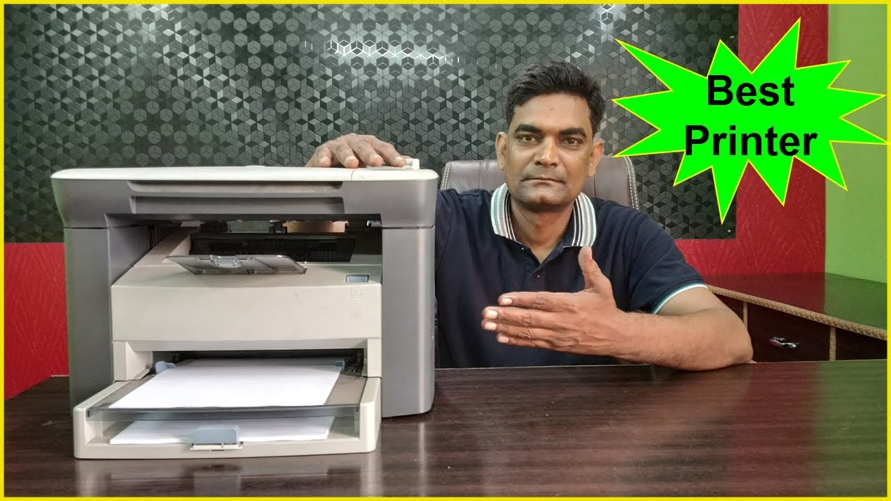 Best Laser Printer In India For Office Use Small Business Home Hp Laserjet M1005 Multifunction
