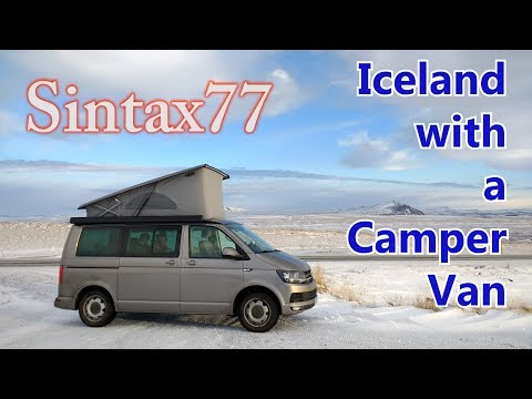 Iceland with a Camper Van - Ring Road in 66 Hours | Winter