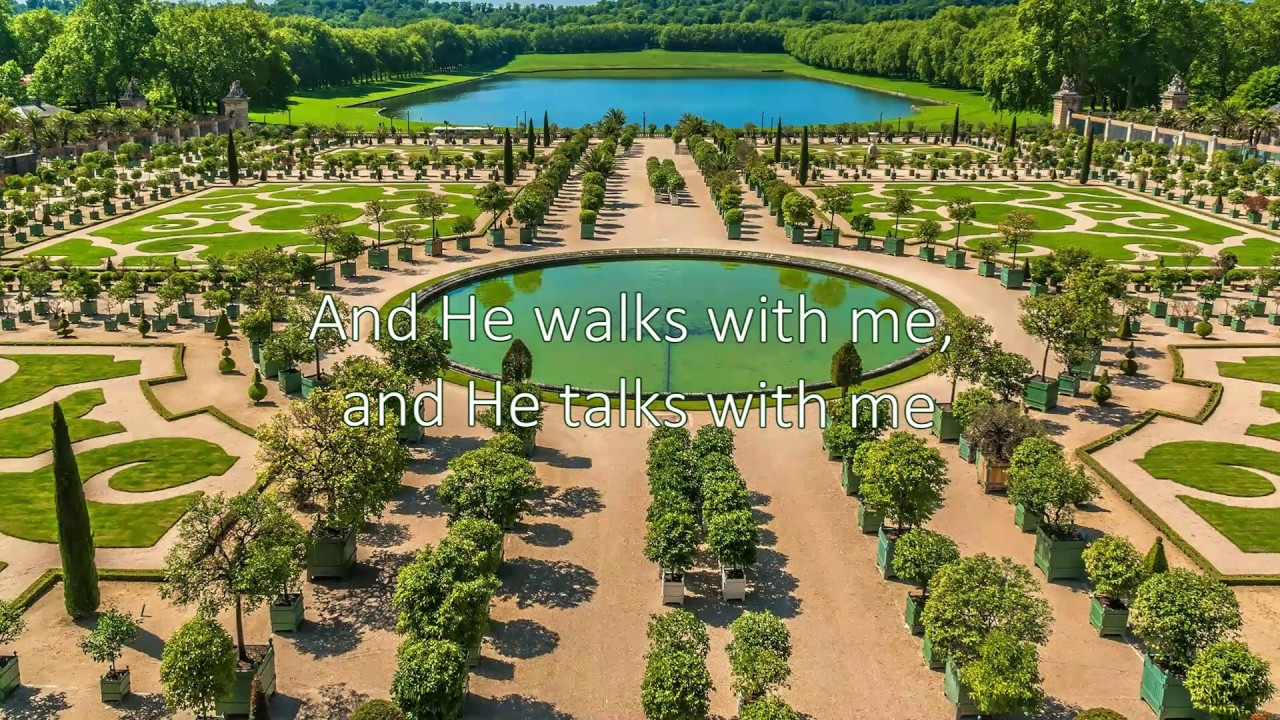 I Come To The Garden Alone I D Stay In The Garden With Jesus Hymn With Lyrics Youtube