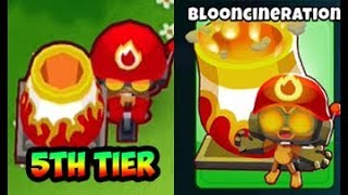 Bloons TD 6 - 5TH TIER MORTAR - BLOONCINERATION