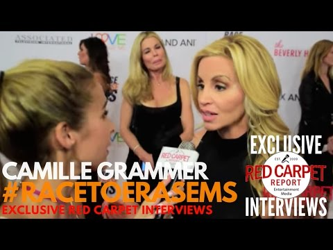 Camille Grammer interviewed at 2017 Race to Erase MS Fundraiser