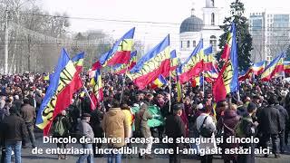 Centenar 2018, Chisinau. Moldovenii inca mai cred ca Basarabia poate fi Romania
