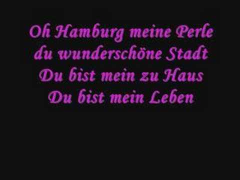 Hamburg Meine Perle Text