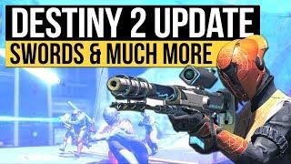 Destiny 2: HUGE INFO UPDATE! - New Interview, Sword Animations, Abi...