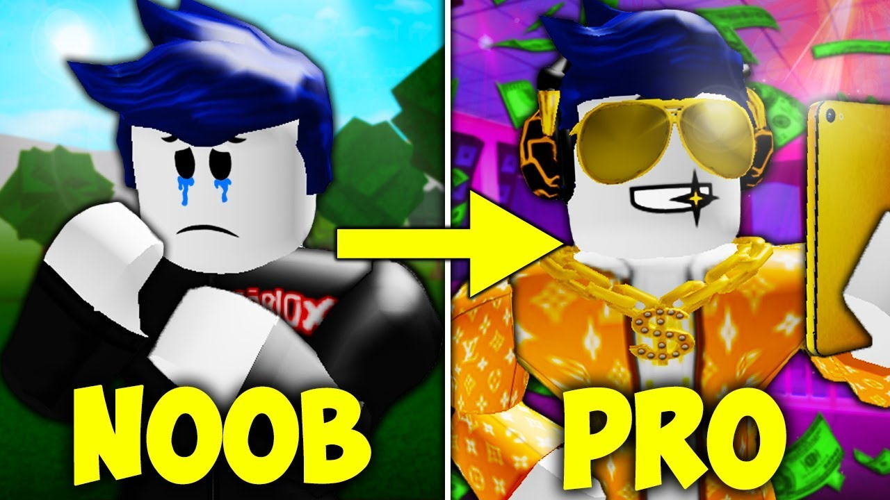Noob To Pro A Sad Roblox Movie Youtube