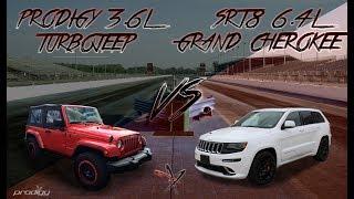 Jeep Wrangler vs Jeep Grand Cherokee | Turbo vs Hemi