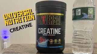 Ultimate Nutrition Creatine Monohydrate - 100% Micronized.