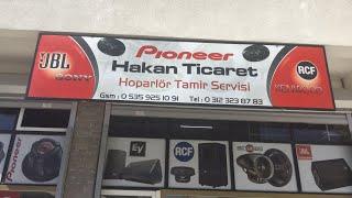 Ankara hoparlör tamiri