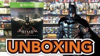 Batman: Arkham Knight Limited Edition (Xbox One) Unboxing!!
