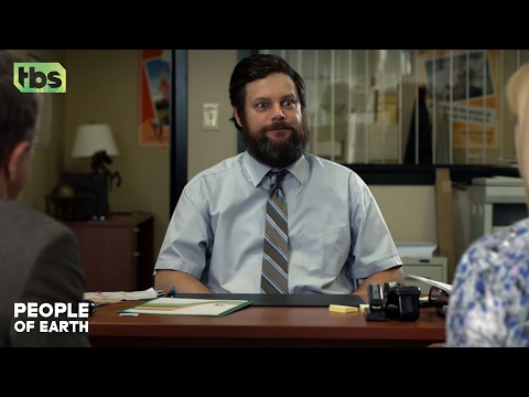 People of Earth: Gerry's Umbrella Insurance [BINGE WATCH] | TBS