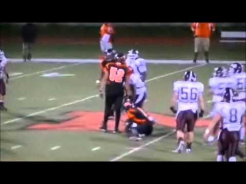 Malcolm X. Robinson #3 Offensive Highlights Bayonne High School 2011-2012