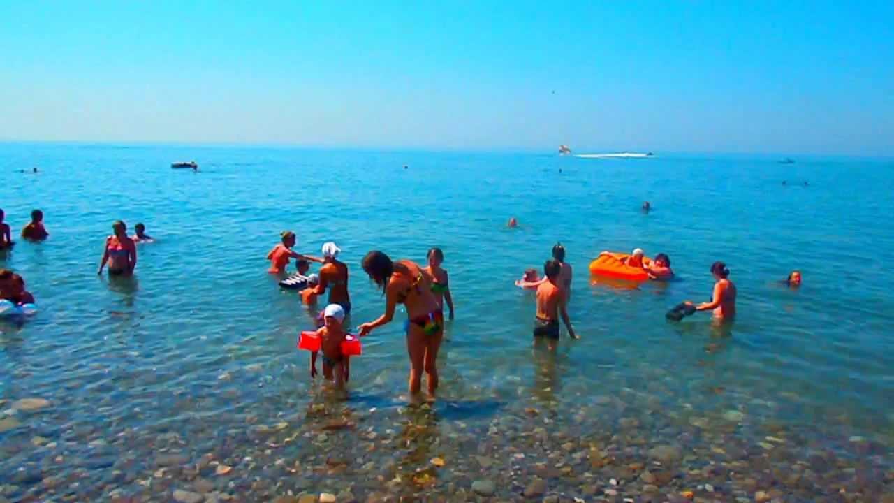 Фото пляжа в лазаревской
