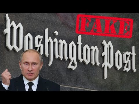 "Washington Post Admits Their ""Russian Hacking"" Story is Fake News"