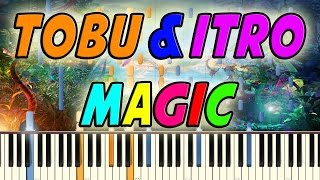 Tobu Itro Magic Piano Cover Tutorial Midi file Synthesia.mp3