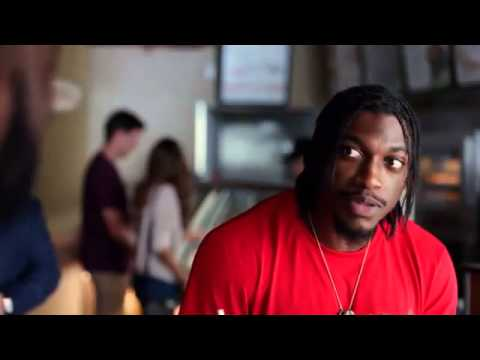 Justin Tuck x RG3 Subway Commercial