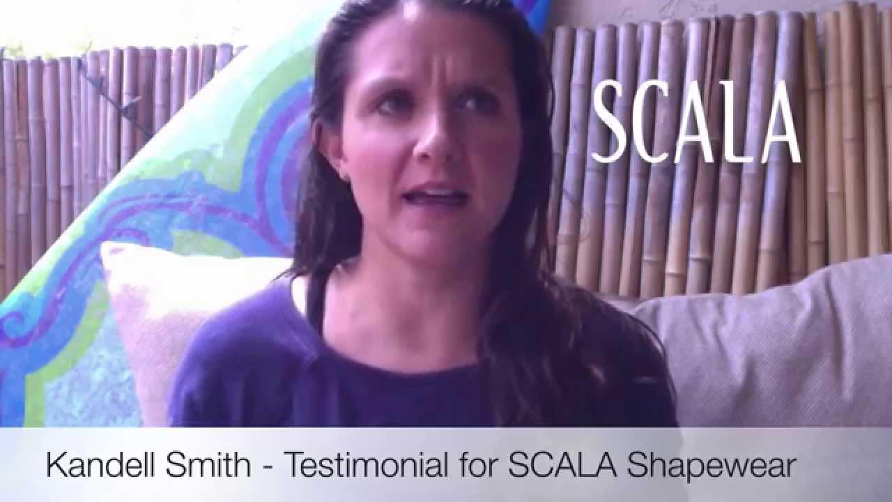 abe761d4c08b3 SCALA - Anti-Cellulite Shapewear - testimonial by Kandell - YouTube
