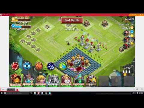 Aries Single Attack Castle Clash