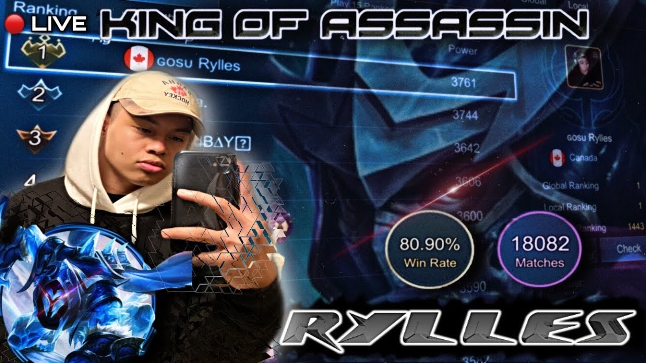 EARLY STREAM! 07/04/20 RYLLES HAYABUSA GRIND Mobile Legends