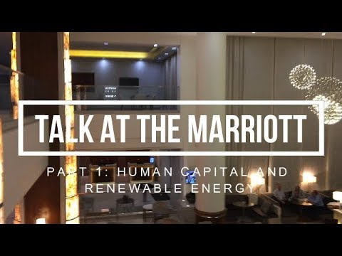 S4.E31 | PART 1 | Talk at the Guyana Marriott Hotel on Human Capital and Renewable Energy