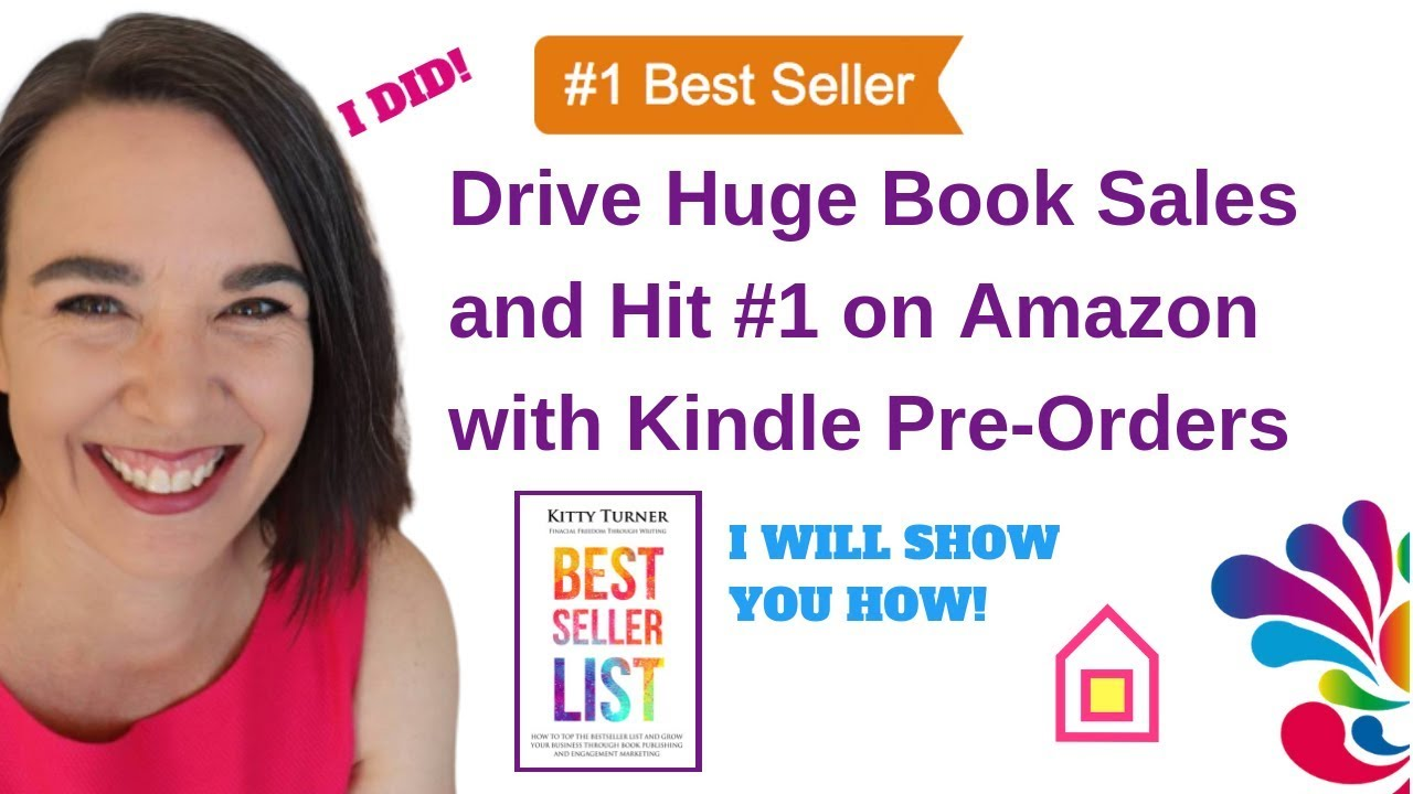 Drive Huge Book Sales and Hit #1 with Kindle Pre-Orders - Daily House