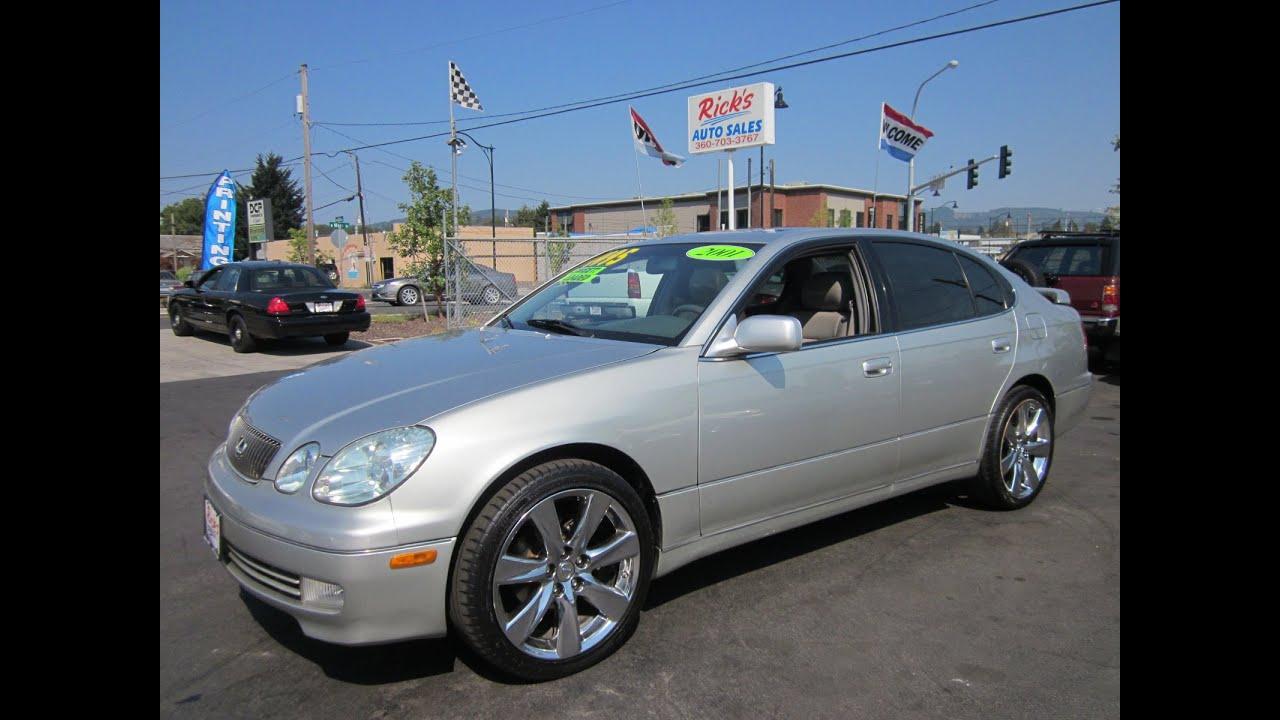 2001 lexus gs 300 sold
