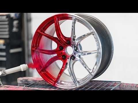 The Most Insane PowderCoat Wheel Color!